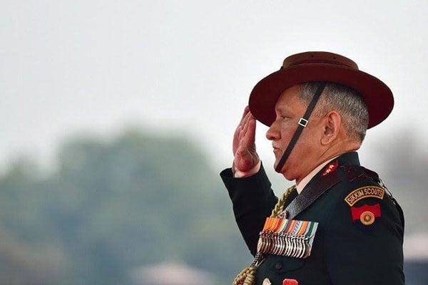 যুদ্ধে বাধ্য করা হলে ভারত প্রস্তুত: ভারতীয় সেনাপ্রধান